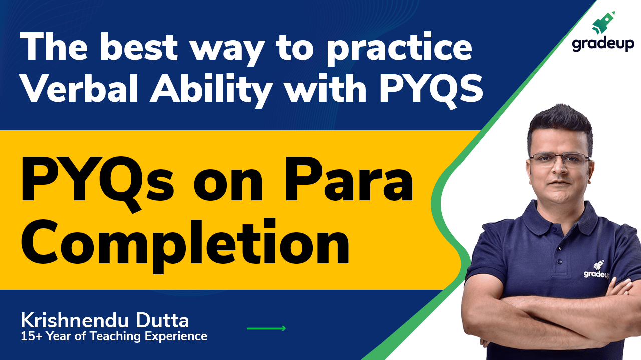 PYQs on Para completion