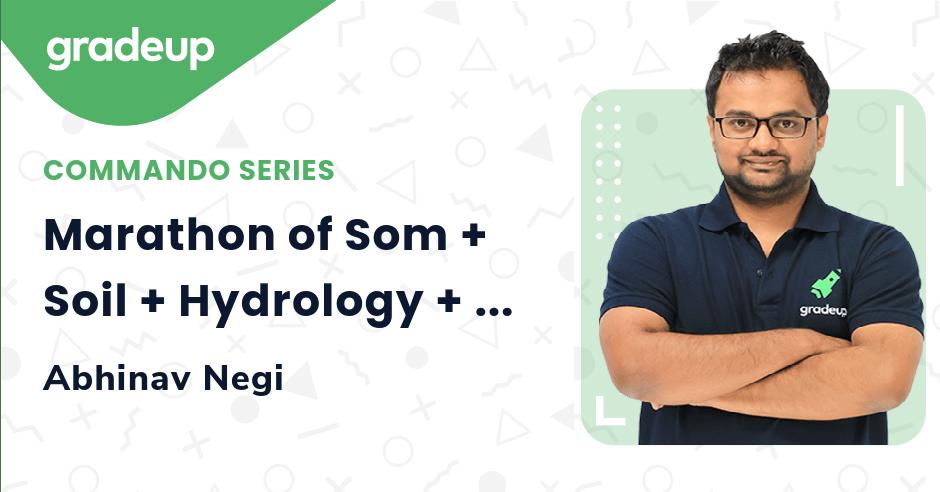Marathon of Som + Soil + Hydrology + Survey Numericals