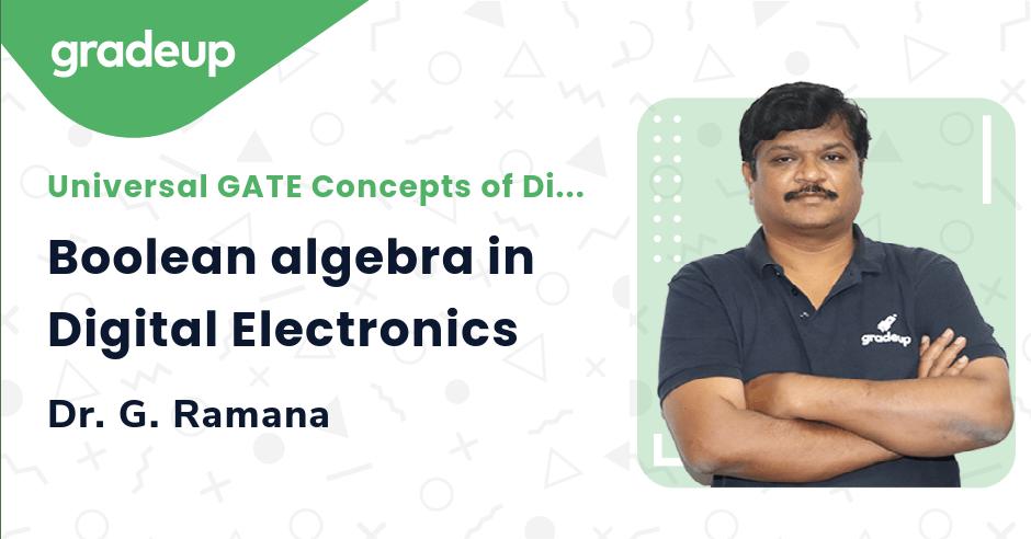 Boolean algebra in Digital Electronics