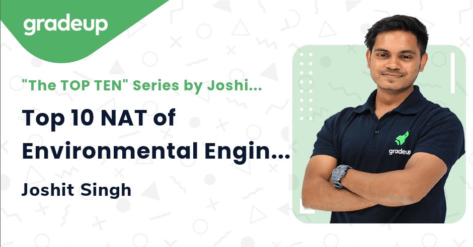 Top 10 NAT of Environmental Engineering