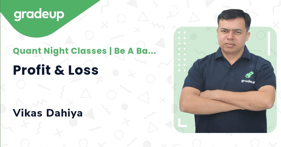 Live Class: Profit & Loss