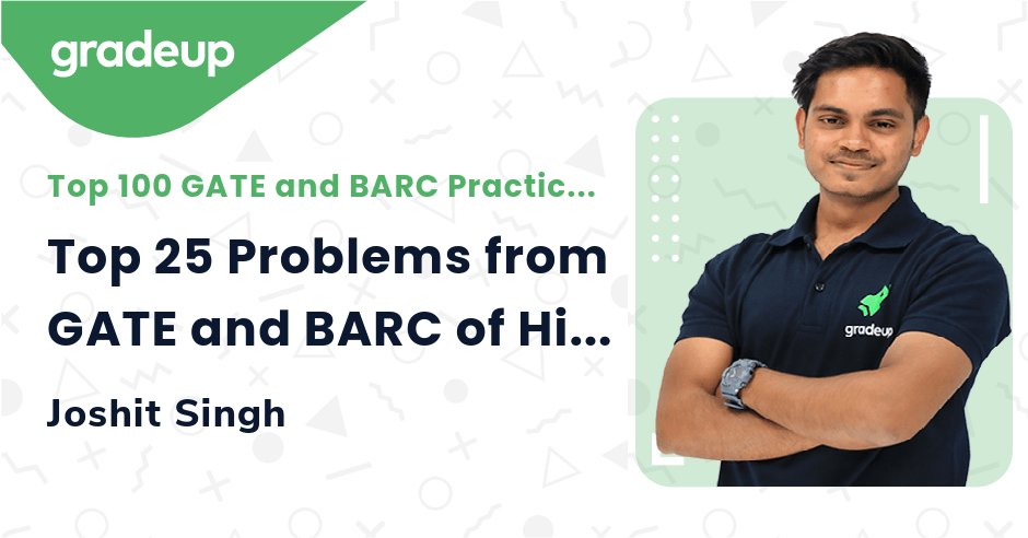 Top 25 Problems from GATE and BARC of Highway Engineering