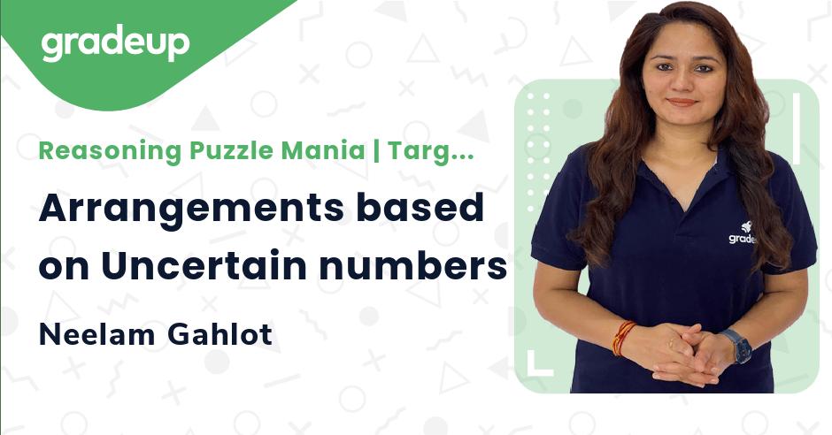 Arrangements based on Uncertain numbers