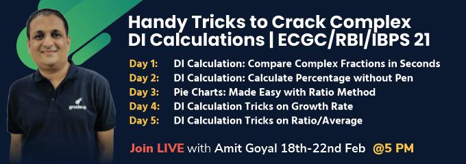 Handy Tricks to Crack Complex DI Calculations | ECGC/RBI/IBPS 21