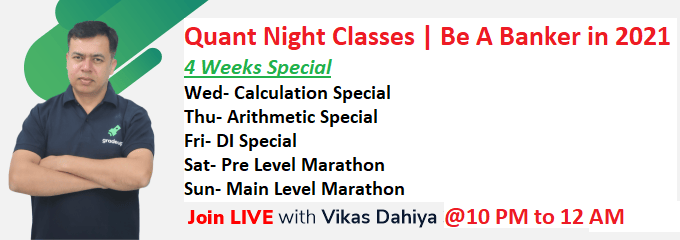 Quant Night Classes | Be A Banker in 2021