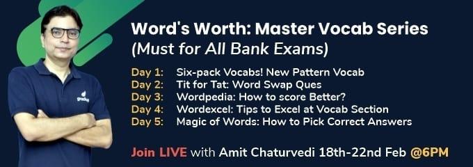Word's Worth: Master Vocab Series