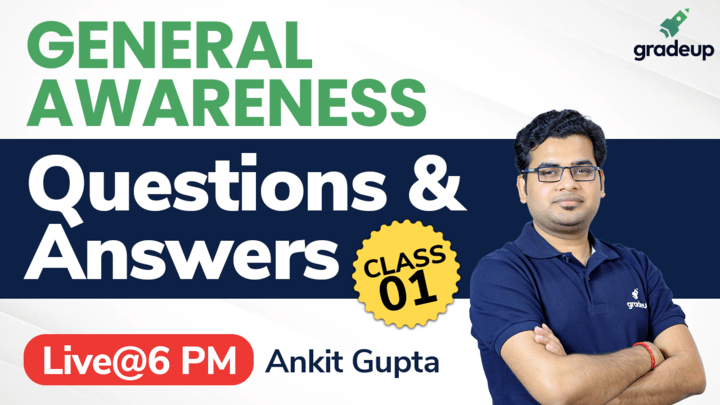 Questions & Answers | All Bank Exam 2021 | General Awareness | Ankit Gupta | Gradeup