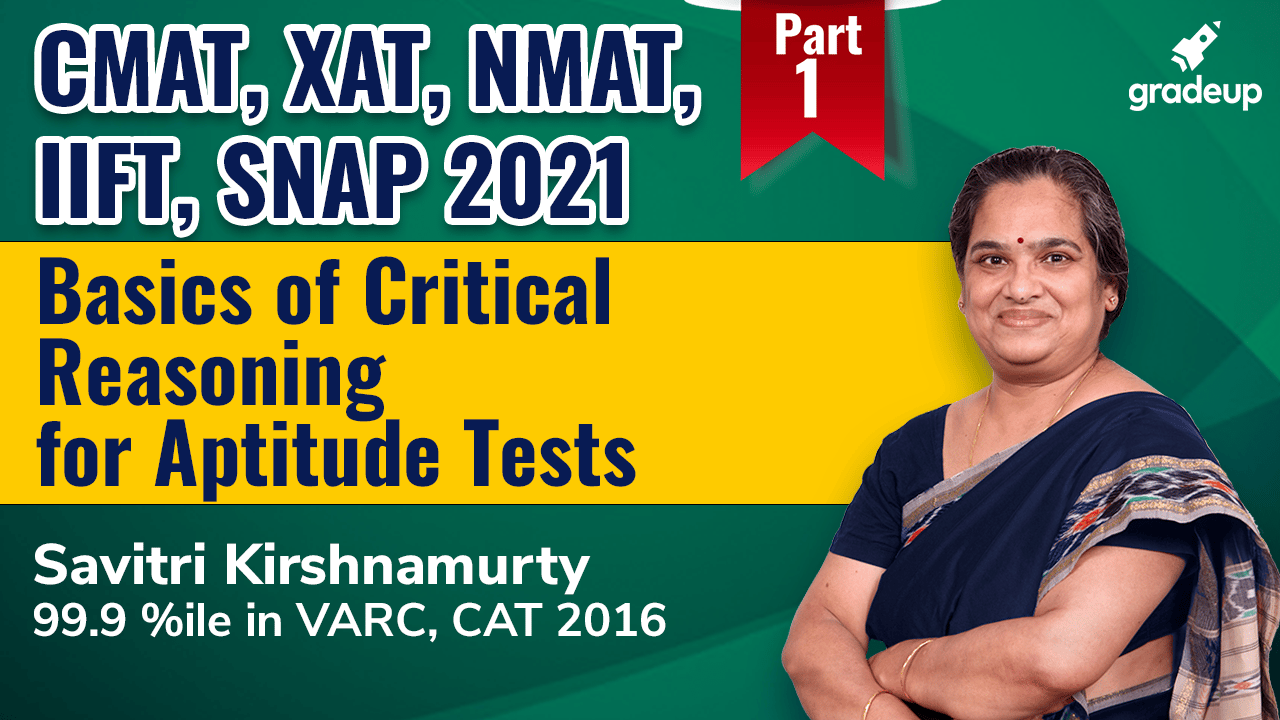 Basics of Critical Reasoning for Aptitude Tests (Part-1)