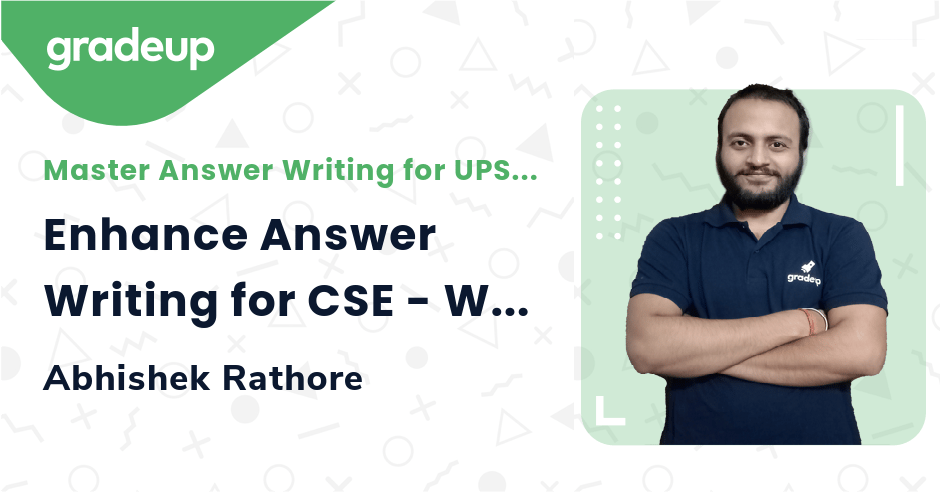 Live Class : Enhance Answer Writing for CSE - World History (Part-1)