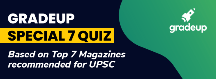 Gradeup Special 7 Quiz -March Week 1