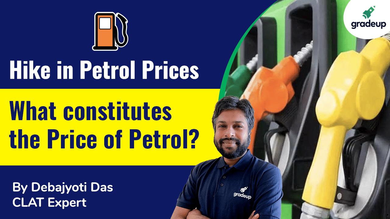 What constitutes the Price of Petrol