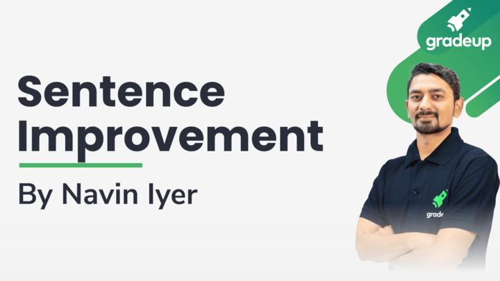 Live Class: Sentence improvement