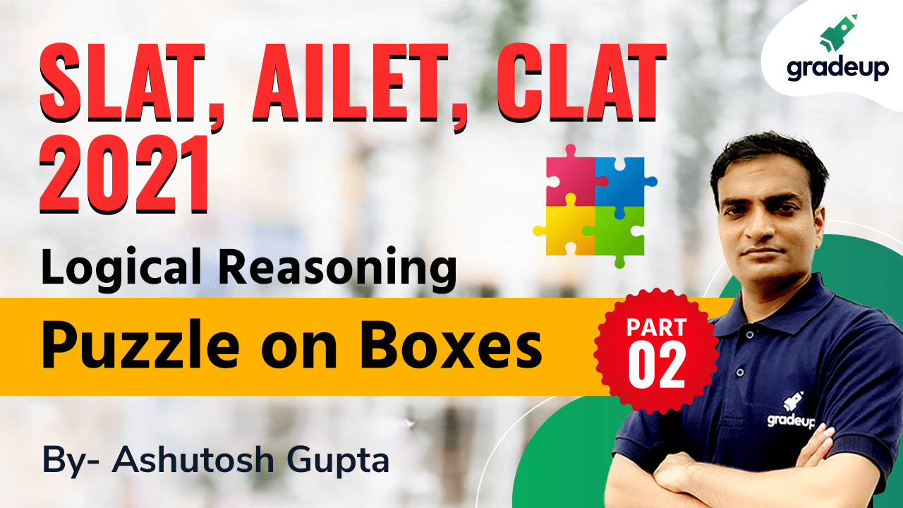 Logical Reasoning |  Puzzle on Boxes