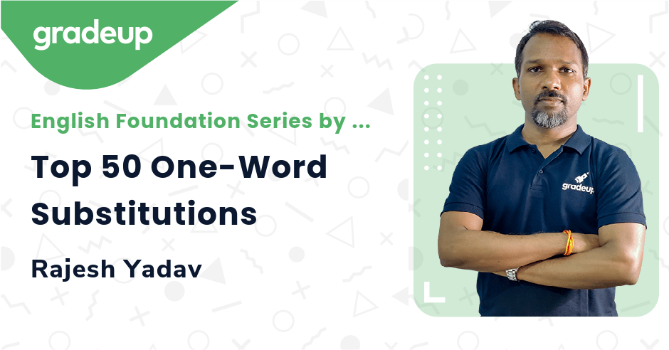 Top 50 One-Word Substitutions