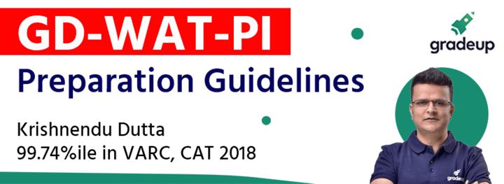 GD-WAT-PI Preparation Guidelines