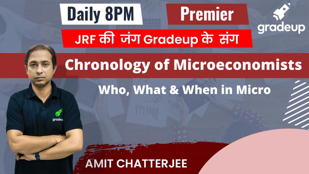 Economics-Chronology of Microeconomists
