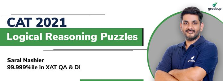 CAT 2021: Logical Reasoning Puzzles