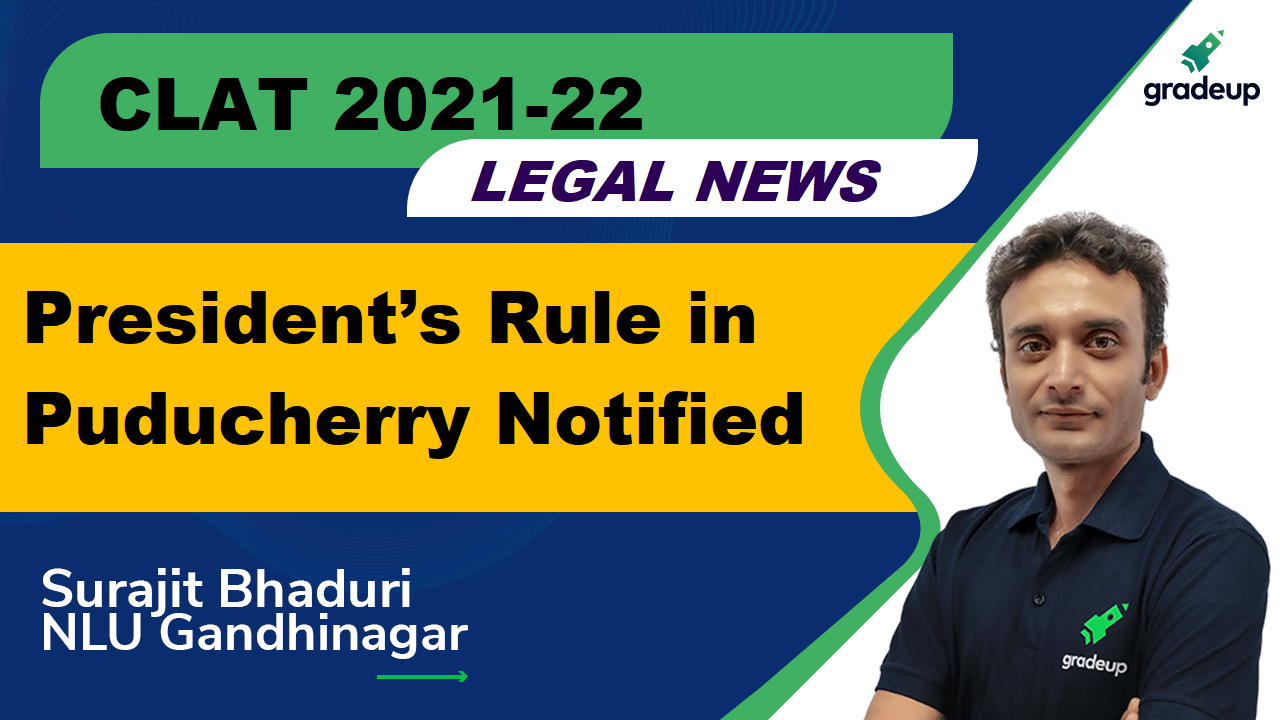 Presidents Rule in Puducherry Current Affair