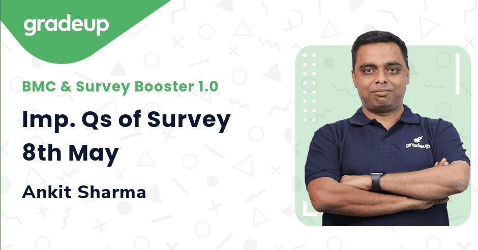 Imp. Qs of Survey 8th May