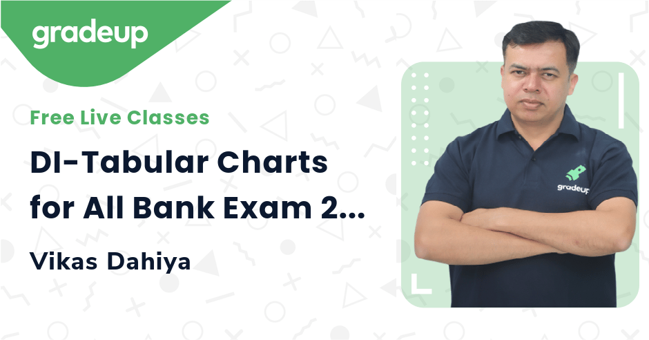 DI-Tabular Charts for All Bank Exam 2021 | Late Night Maths Special | Vikas Dahiya | Gradeup