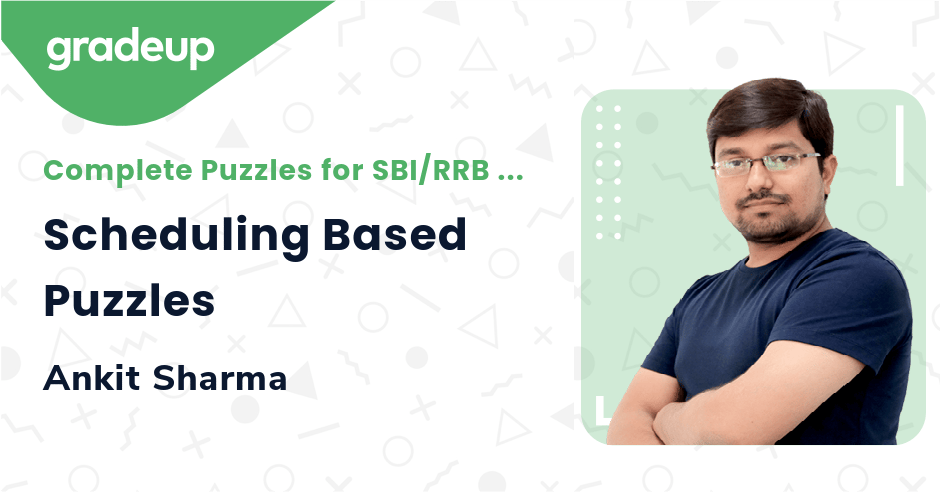 Live Class: Scheduling Based Puzzles