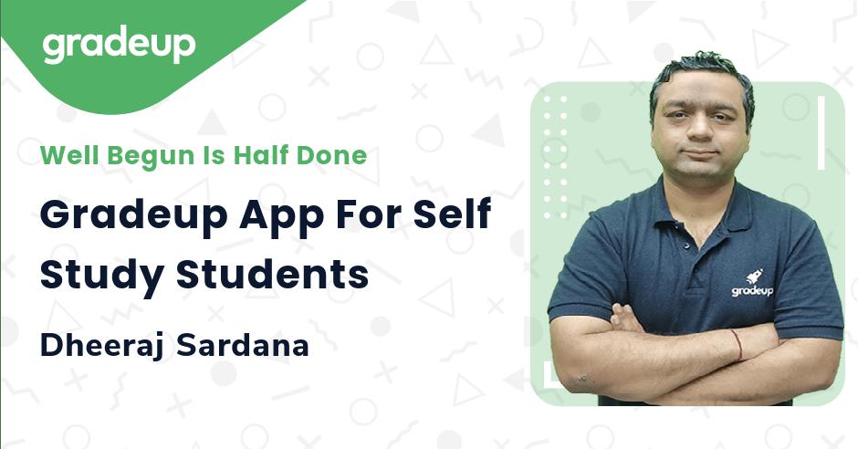 Gradeup App For Self Study Students