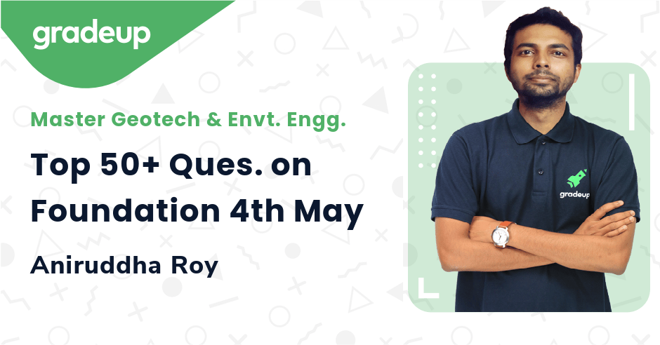 Top 50+ Ques. on Foundation 4th May