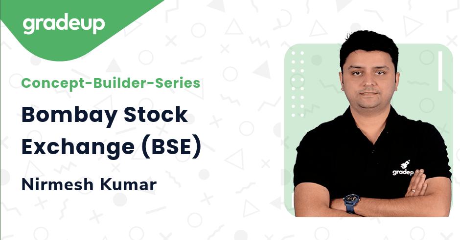 Live class:Bombay Stock Exchange (BSE)