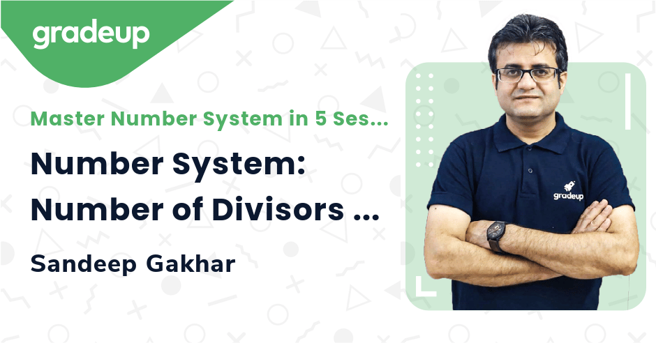 Number System: Number of Divisors | Day 1