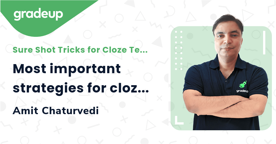 Live Class: Most important strategies for cloze tests