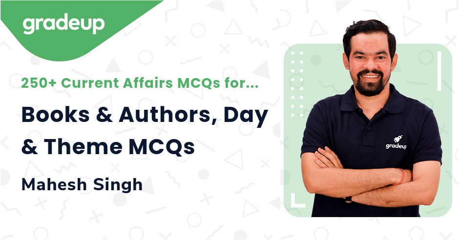 Liveclass: Books & Authors, Day & Theme MCQs