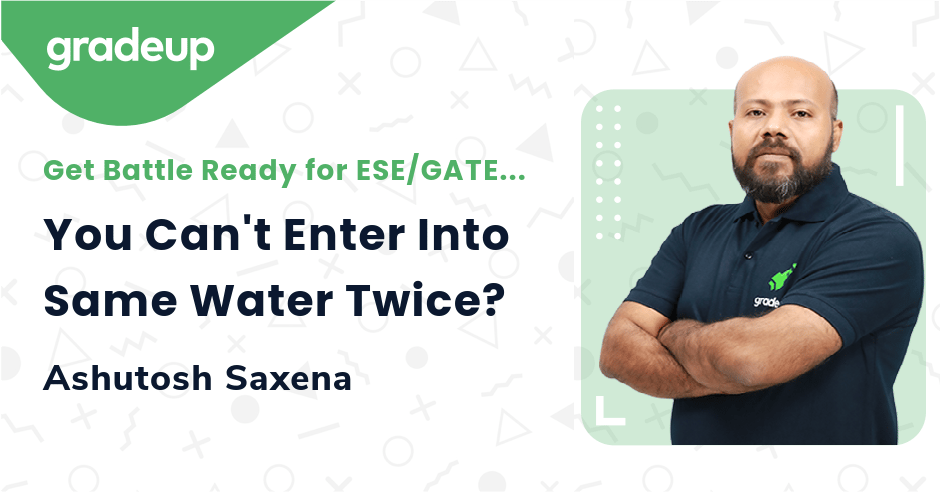 You Can't Enter Into Same Water Twice?