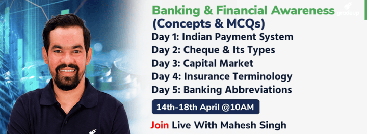 Banking & Financial Awareness (Concepts & MCQs)