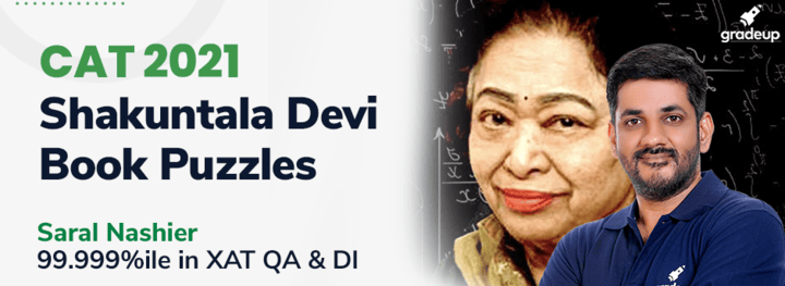 Shakuntala Devi Book Puzzles for CAT 2021