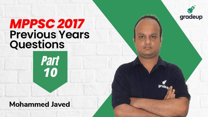 Live class:MPPSC Previous Years Questions 2017 Part-10
