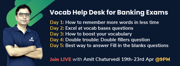 Vocab Help Desk for Banking Exams