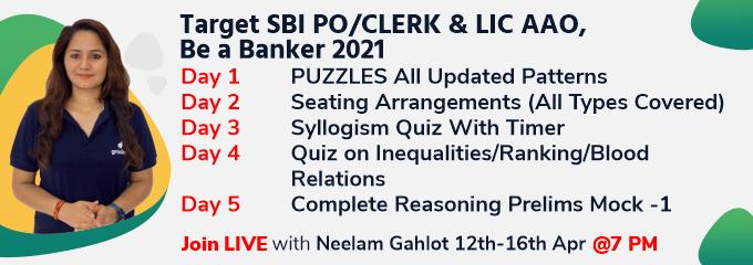 Target SBI PO/CLERK & LIC AAO