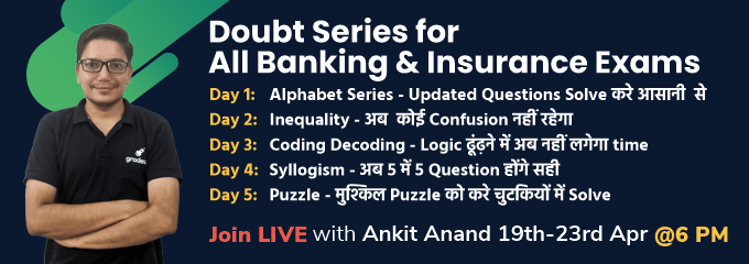 Doubt Series for All Banking and Insurance Exams