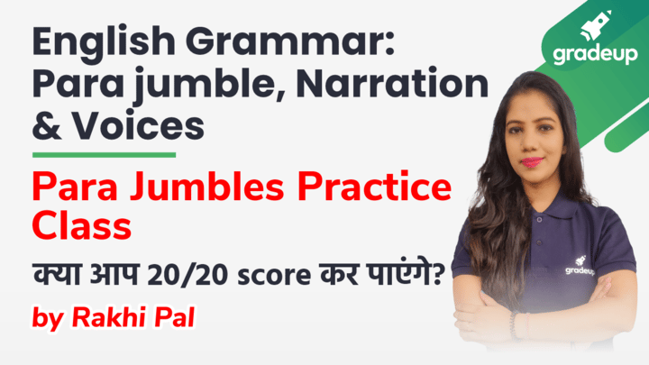 Para Jumbles Practice: Can you score 20/20?