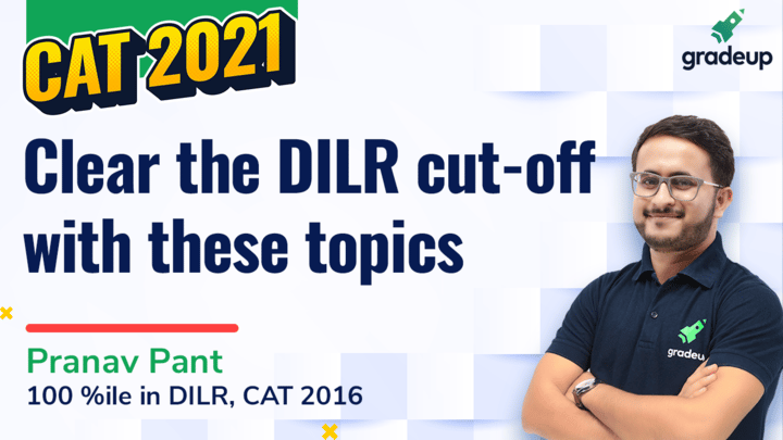 Clear the DILR cut-off by this daily dose