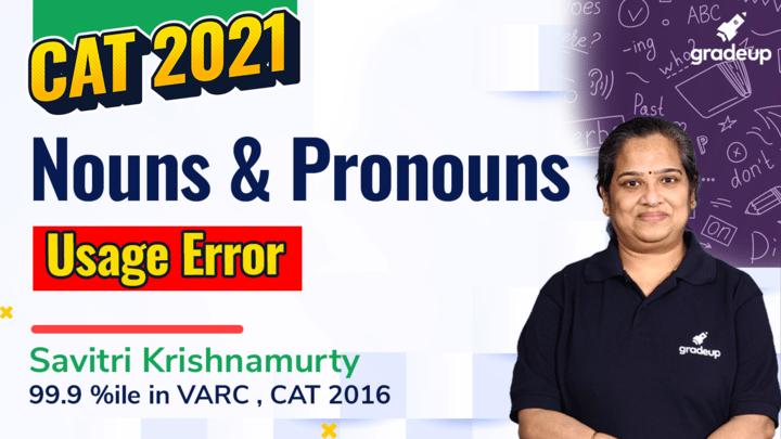 Nouns and Pronouns Usage Errors