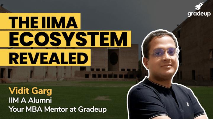 The IIMA ecosystem REVEALED