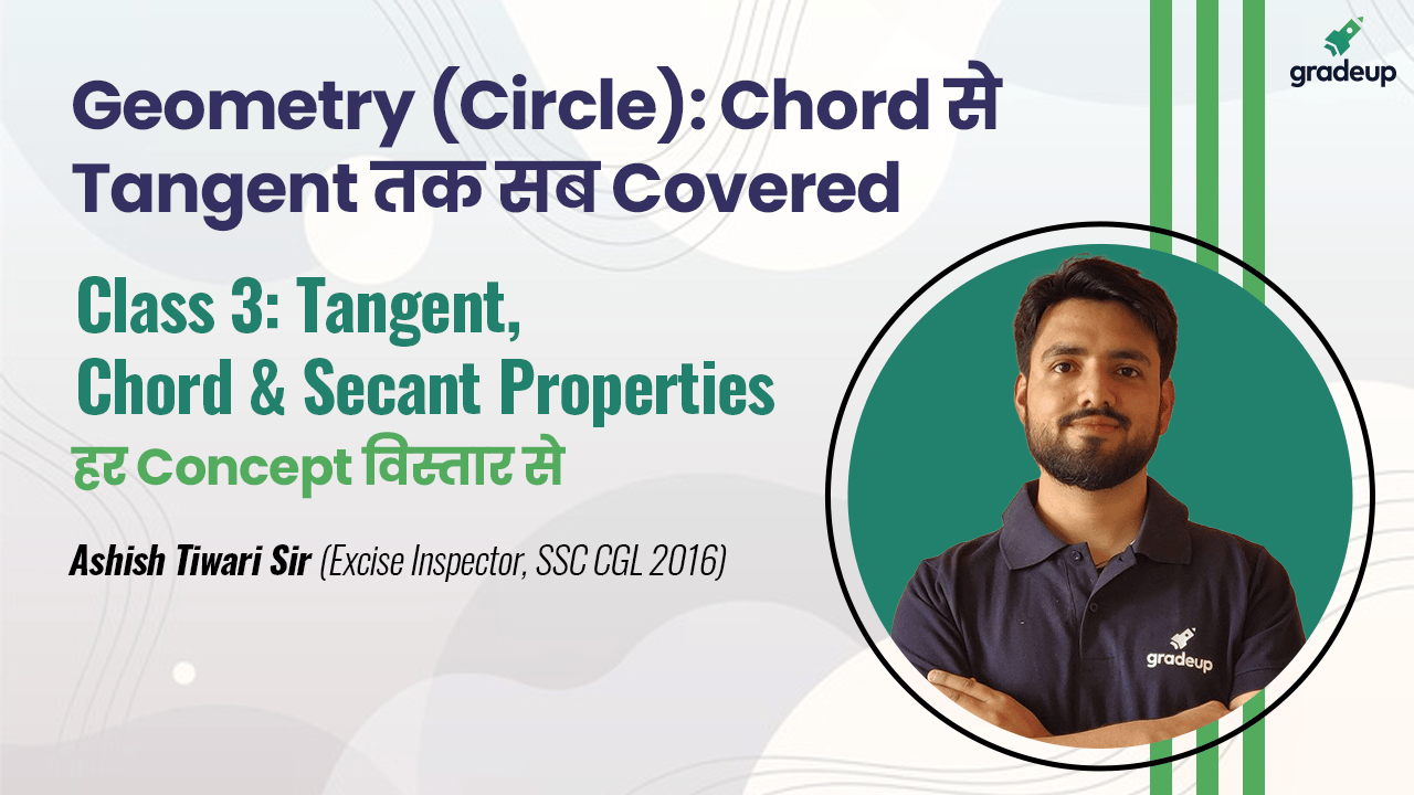 Class 3: Tangent, Chord & Secant Properties