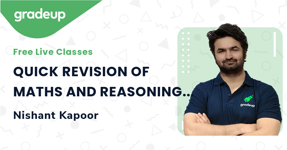 QUICK REVISION OF MATHS AND REASONING FOR UGC NET EXAM