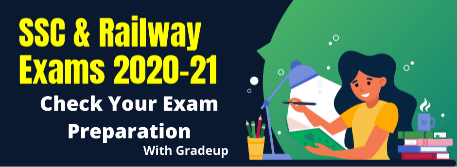Check Your Exam Preparation for SSC & Railway Exams