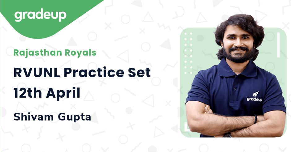 RVUNL Practice Set 12th April