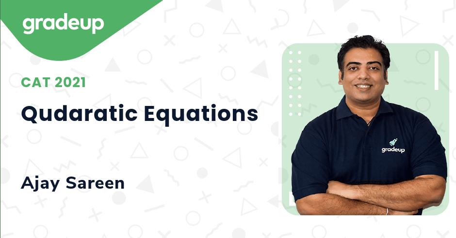 Qudaratic Equations
