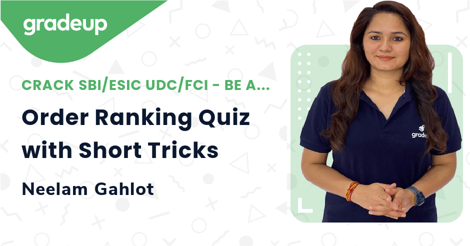 Live Class: Order Ranking Quiz with Short Tricks