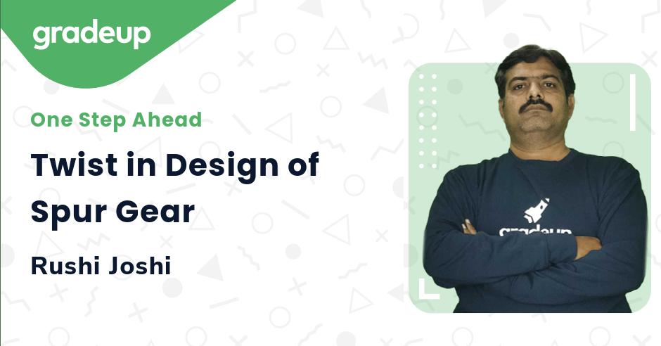 Twist in Design of Spur Gear