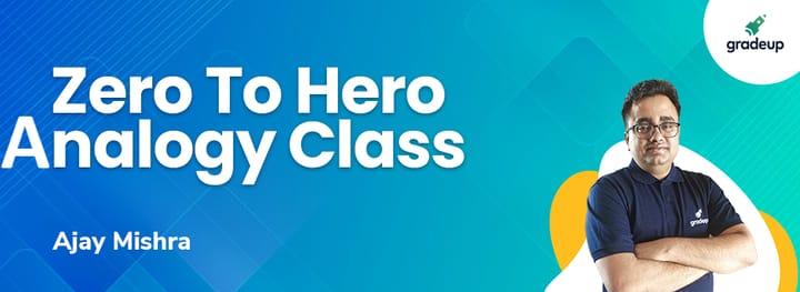 RAS 2021: Zero To Hero Analogy Class